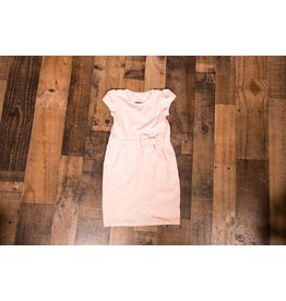Mabel and Honey Light Peach with Bow Dress