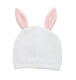 Mud Pie Knit Bunny Hat