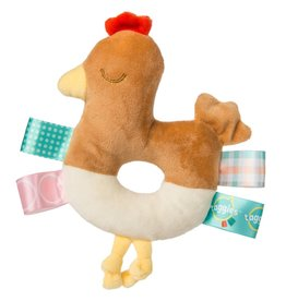 Mary Meyer Chikki Chicken Taggie Rattle
