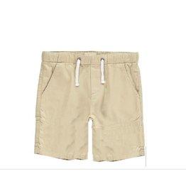 Me + Henry Stone Woven Bermuda Shorts