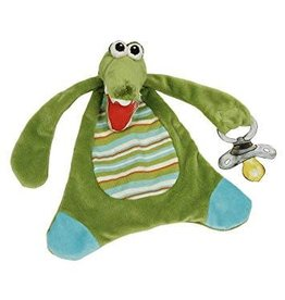 Maison Chic Gary the Gator Pacifier Blanket