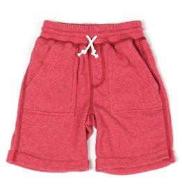 Kapital K Watermelon Heathered Terry Cloth Roll Up Shorts