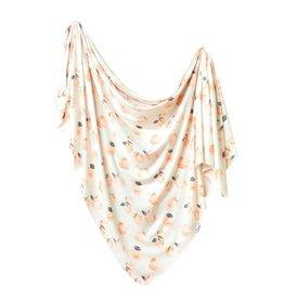 Copper Pearl Caroline Knit Swaddle Blanket