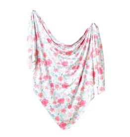 Copper Pearl June Knit Swaddle Blanket