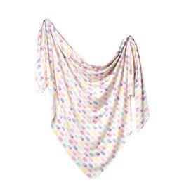 Copper Pearl Summer Knit Swaddle Blanket