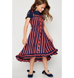 Hayden Sleeveless Tiered Hi-Lo Maxi Dress