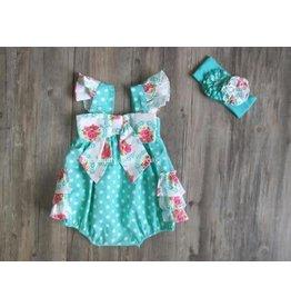 Serendipity Clothing Co Rose Garden Bow Bubble