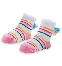 Mud Pie Color Tassel Stripe Socks