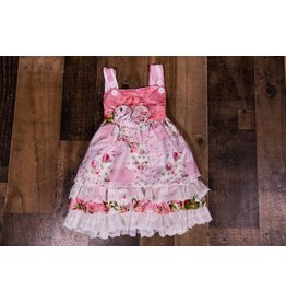 SJ's Classic Rose Pink Ruffle Izzy Dress