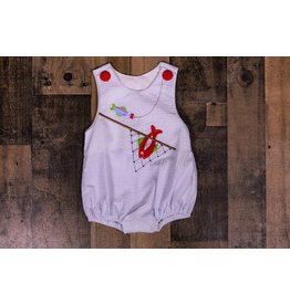 Three Sisters Big Catch Applique Sunsuit
