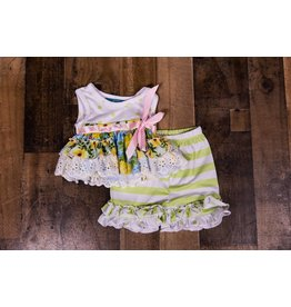 SJ's Lime Sherbet Tunic Set