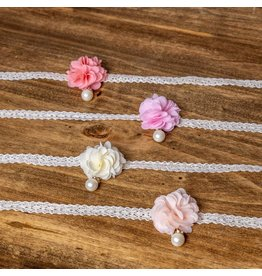 MLKids Flower with Single Pearl Necklace