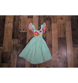 Masala Baby Diya Dress Flower