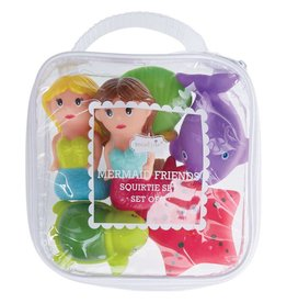 Mud Pie Mermaid Friends Squirter Set
