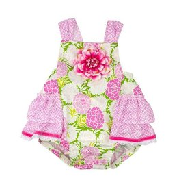 Haute Baby Summer Blooms Sunsuit