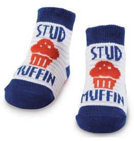 Mud Pie Stud Muffin Socks