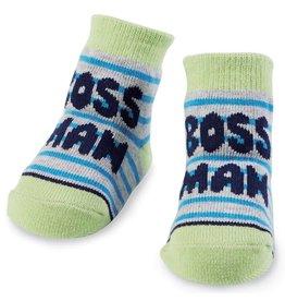 Mud Pie Boss Man Socks