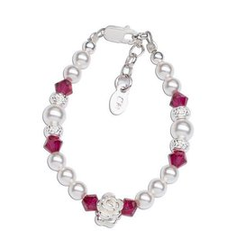 Cherished Moments Ruby Bracelet