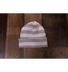 Tesa Babe Ivory & Grey Stripe Cap
