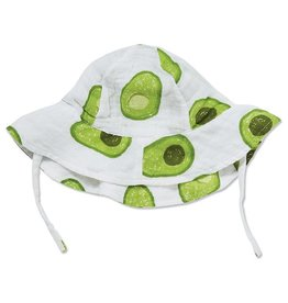 Angel Dear Avocado Muslin Sunhat