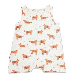 Angel Dear Tigers Bamboo Sleeveless Shortie Romper