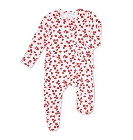 Angel Dear Lady Bugs Zipper Footie