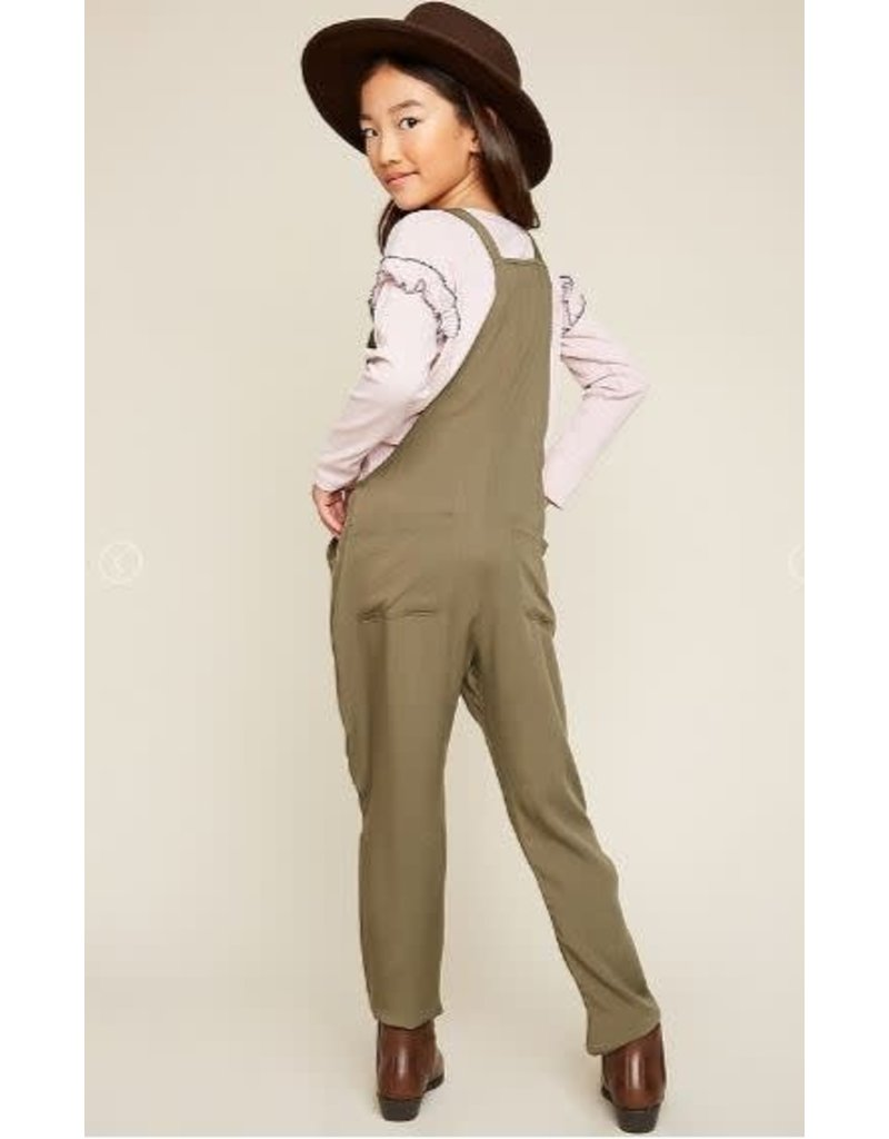 0a120390d1c Hayden Olive Tie Strap Jumpsuit Hayden Olive Tie Strap Jumpsuit