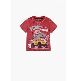 Boboli Red Safari Shirt