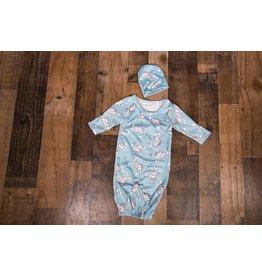 Blue Submarine Gown