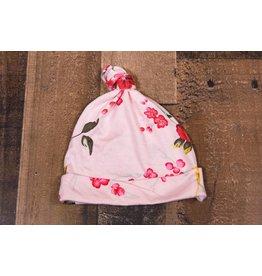 Bestaroo Pink Cherry Blossoms Knot Hat