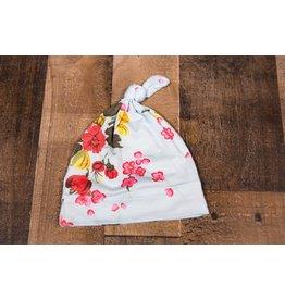 Bestaroo Blue Cherry Blossoms Knot Hat