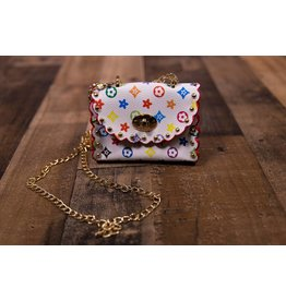 Zomi Gems Colorful White Bag