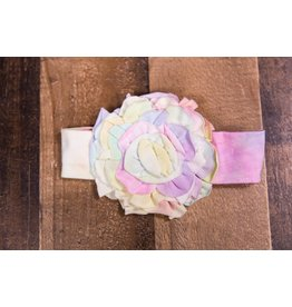 Isobella & Chloe Spring Pastel Light Pink Soft Headband