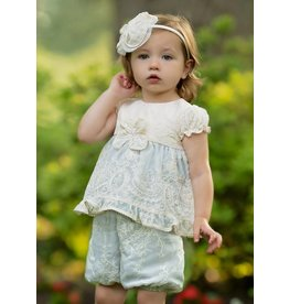 Isobella & Chloe Antoinette Dress And Bloomer Set