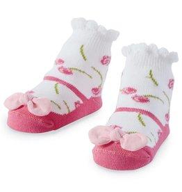 Mud Pie Petite Rosette Sock