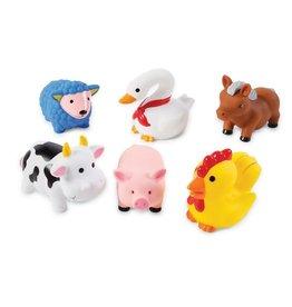 Mud Pie Farm Animals Bath Toys