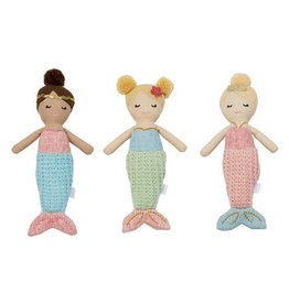 Mud Pie Mermaid Rattle