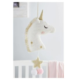 Mud Pie Unicorn Musical Pull Down