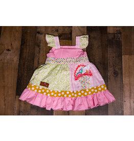 Millie Jay Easter Basket Applique Panel Dress