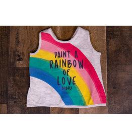 Boboli Paint a Rainbow of Love Cross Back Tank