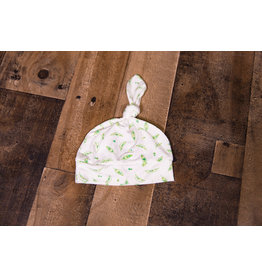 Angel Dear Sweet Peas Bamboo Knotted Hat (0-3M)
