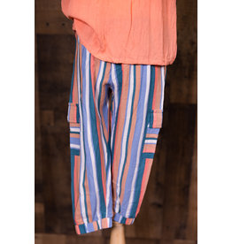 Joyus And Free Striped Beach Hayden Pants
