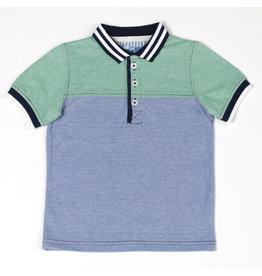 Kapital K Two Tone Polo Shirt