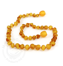 Momma Goose Raw Honey Amber Teething Necklace