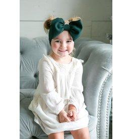 Stevie J's Forest Green Chandler Headwrap Child