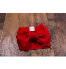 Stevie J's Deep Red Chandelier Textured Headwrap