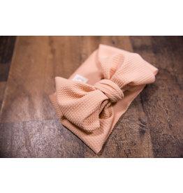 Stevie J's Peach Chandelier Textured Headwrap Child