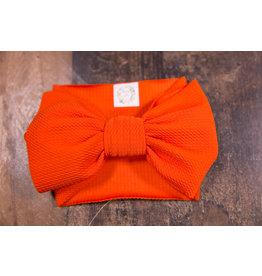 Stevie J's Orange Chandelier Textured Headwrap
