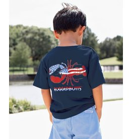 Rugged Butts Patriotic Lobster Southern Tee