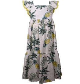 Bonnie Jean Pineapple Floral Dress